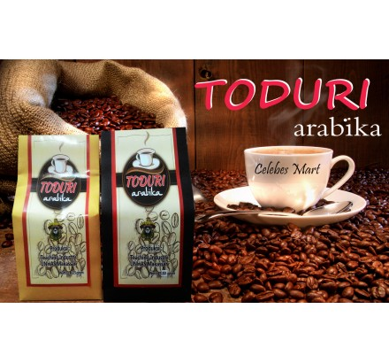 Kopi TODURI Arabika Bubuk 125 Gram MEDIUM DARK